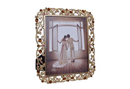 MDF Photo Frame Imitation Gold & Acrylic
