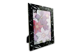 MDF Photo Frame Black Marble Printing